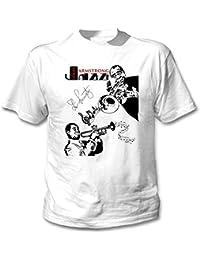 Men's LOUIS ARMSTRONG - JAZZ White T-Shirt