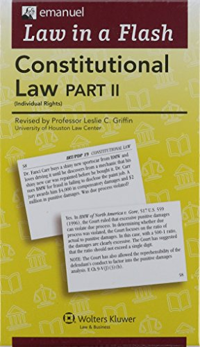 Law In a Flash: Strategies & Tactics for the MBE: 9 Of Law in a Flash Cards (Law in a Flash Cards Ser)