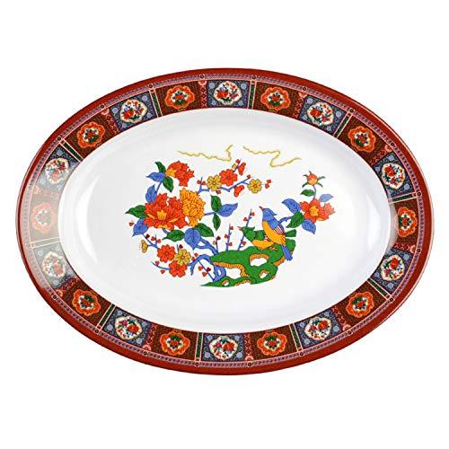 Peacock melamine dinnerware collection 24 oz, 13