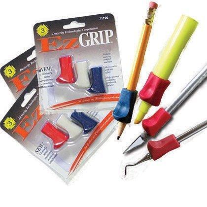EZ Grips, G3 Pen Grips ONLY Pkg/3