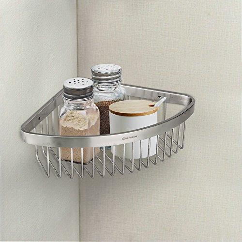 Homeideas Shower Caddy Corner Shower Shelf Stainless Steel Import It All