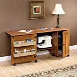 Best Craft Furnitures - Sewing / Craft Center - Folding Table Review