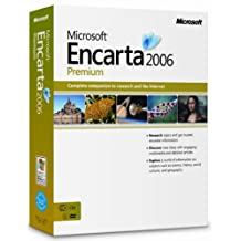 Microsoft Encarta Premium 2006 CD/DVD