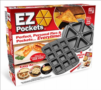 EZ Pock Pie/Pocke Maker by As Seen On TV