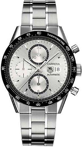 TAG Heuer CV2011.BA0786 - Reloj de pulsera hombre, acero inoxidable, color Plata: Amazon.es: Relojes