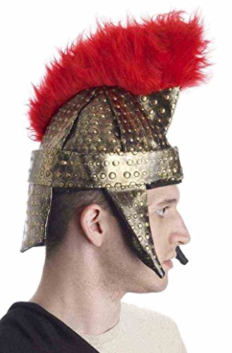 (Forum Novelties Roman Gladiator Warrior Gold Red Costume)