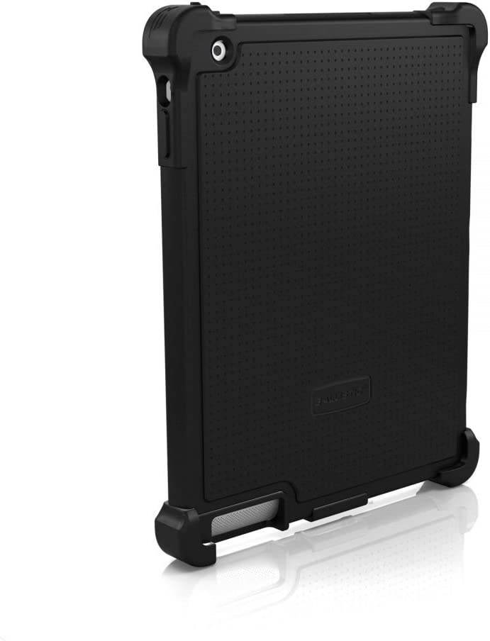 Ballistic Tough Jacket Case for Retina Display for iPad 2/iPad 3, Black (Tj0660-a06c)