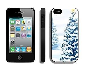 Popular Design Snow Tree Like Christmas Tree Black TPU Case For iPhone 6 4.7,Apple iPhone 6 4.7 Case