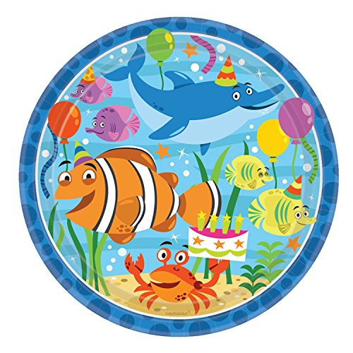 (Ocean Buddies Plate (L) 8ct [Contains 3 Manufacturer Retail Unit(s) Per SKU# 551624)