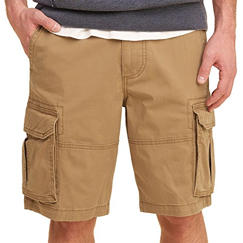 Hollister Men's Toffee Cotton Cargo Shorts W30 (Hollister Men Cargo Shorts)
