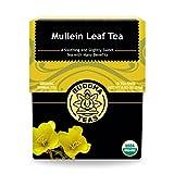 Organic Mullein Leaf Tea - Kosher, Caffeine-Free, GMO-Free - 18...