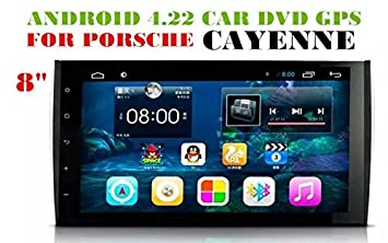 HD1024*600 9 inch Android 4 44 Car Dvd Gps for PORSCHE CAYENNE