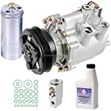AC Compressor w/A/C Repair Kit For Honda Civic 2003 2004 2005 -