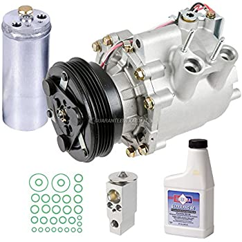 AC Compressor w/A/C Repair Kit For Honda Civic 2003 2004 2005 - BuyAutoParts 60-81362RK NEW