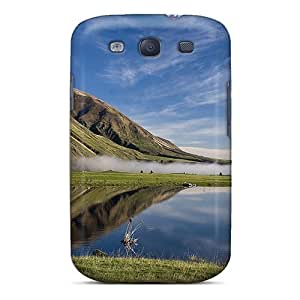 Protector For SamSung Galaxy S3 Case Cover Lago Tranquilo