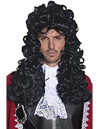 Men's Pirate Captain Wig Long and Curly