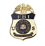 US FBI Ternal Affairs Division Special Agent Metal Badge Pin Badge