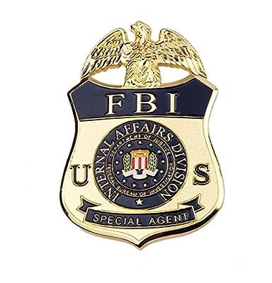 US FBI Ternal Affairs Division Special Agent Metal Badge Pin Badge