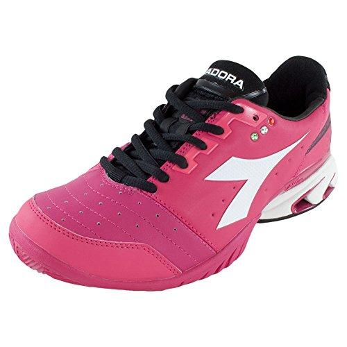 Diadora Women`s S Star K III AG Tennis Shoes Bright Rose ...