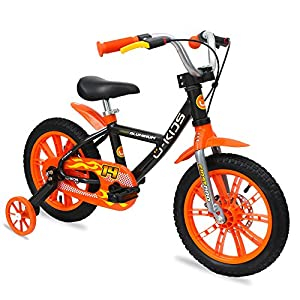 U Kids First Pro Boy 14 Inch Lightweight Kids Bicycle