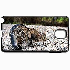 Fashion Unique Design Protective Cellphone Back Cover Case For Samsung GalaxyNote 3 Case Cat Black