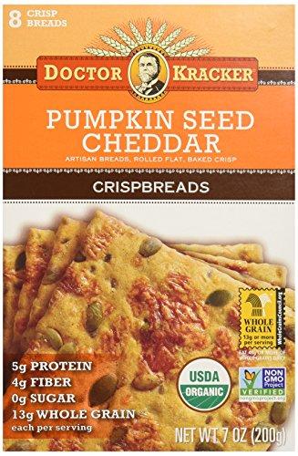 Doctor Kracker Pumpkin Cheddar Crispbread product image