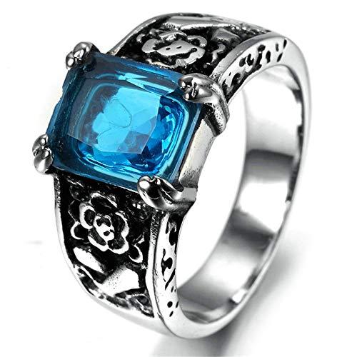 Aooaz Jewelry Class Rings for Men Rechteck Width 9MMstainless Steel Ring US Size 10 (Rechteck-symbol)