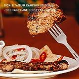 Coolrunner Titanium Utility Cutlery Set, Extra
