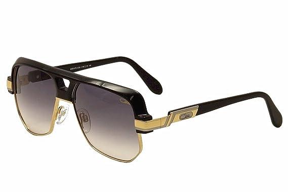 4d6b83b13475 Amazon.com  Cazal 672 001SG Matte Black Gold   Grey Gradient ...