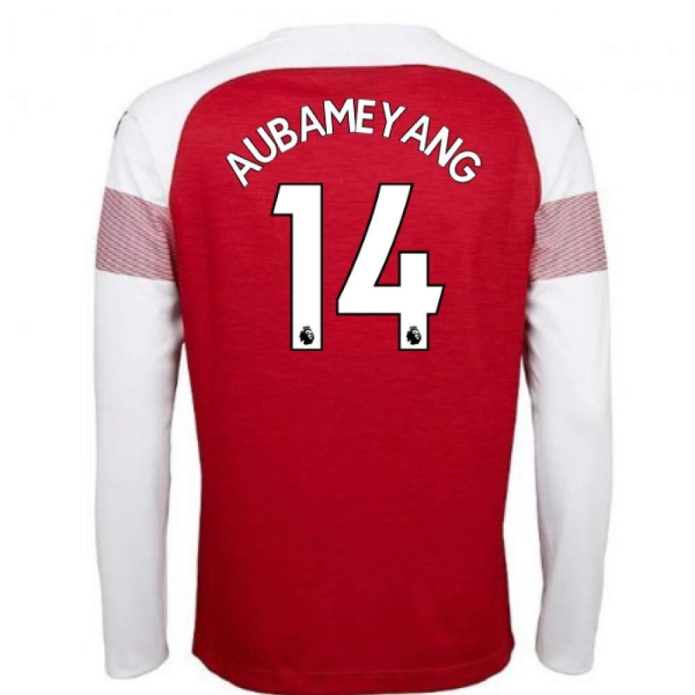 新作商品 2018-2019 Arsenal Puma Home Adults Long (Pierre Sleeve 2018-2019 Shirt (Pierre Emerick Aubameyang 14) B07H9RPB28 XL Adults Red Red XL Adults, アップルミント:faf53f83 --- svecha37.ru