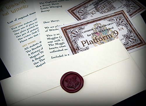 Harry Potter School Acceptance Letter Gift Pack Personalized with Any Name and Address by planetsforsale (Image #5)