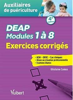 Amazonfr Auxiliaires De Puériculture Modules 1 à 8 Exercices