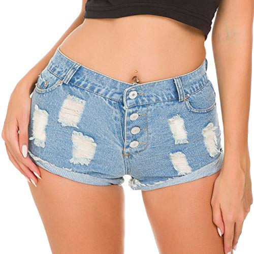 Vita Sexy Hot Di Pants Zhuxin Moda Foro Nightclub Blue Alta Jeans Pantaloncini A Delle Donne 4OUnqzCwS