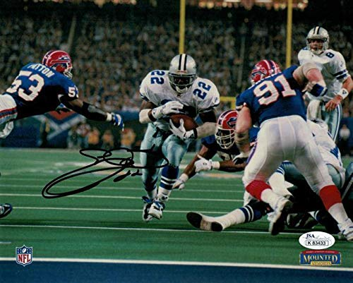 Signed Emmitt Smith Photograph - 8x10 13267 PF - JSA Certified - Autographed NFL Photos