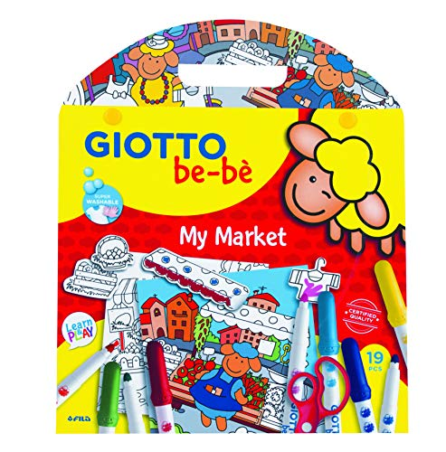 - Giotto Be-Be My Market Fun Activity Kit Set