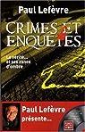 Crimes et enquêtes (1DVD) par Lefèvre