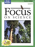 Focus on Science, Steck-Vaughn Staff, 0739891537