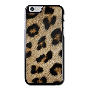 URDesigner Case for iPhone 6, 4.7 inch, Laser Technology,Cool Leopard Fur Leather Iphone 6 Case Maple Iphone 6 Case
