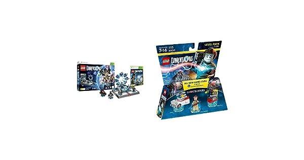 LEGO - Starter Pack Dimensions (Xbox 360) + Level pack: Los Cazafantasmas, Peter Venkman: Amazon.es: Videojuegos