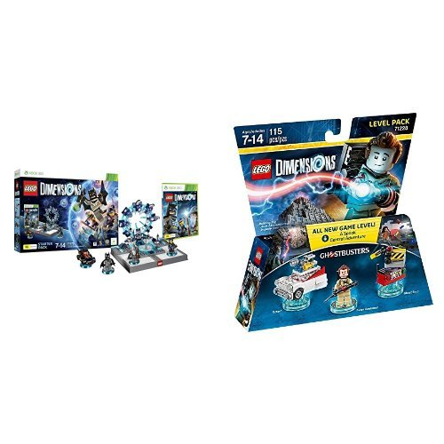 LEGO - Starter Pack Dimensions (Xbox 360) + Level pack: Los ...