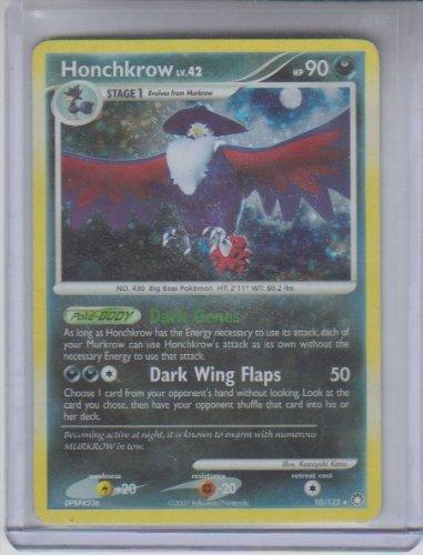 Honchkrow Holo Rare Pokemon 2007 DP Mysterious Treasures #10 Photo - Pokemon Gaming