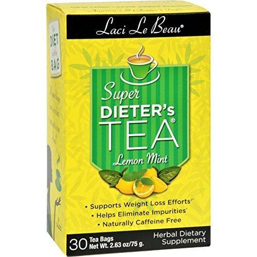 Laci Le Beau Super Diet Tea Lemon Mint 30 Bag by Laci Le Beau