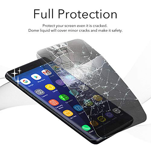 Dome Glass VIVO NEX A/S Screen Protector Tempered Glass, Full Cover Screen Shield [Liquid Dispersion Tech] Easy Install Kit by Whitestone for VIVO Nex A or S (2018) - 1 Pack by Dome Glass (Image #3)