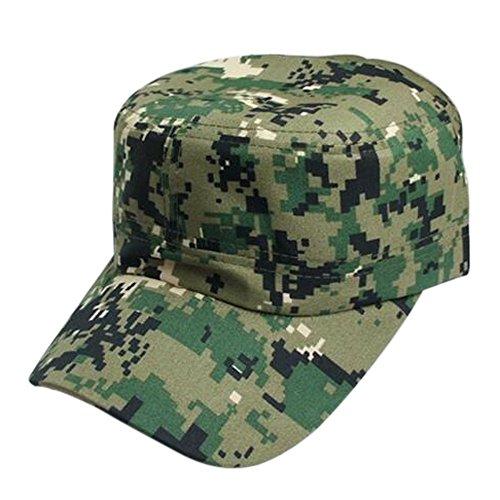 Cegduyi_hats Hats for Men Flat Bill,Men Women CamouflageOutdoor Climbing Baseball Cap Hip Hop Dance Hat Cap