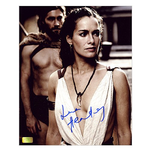 Lena Headey Autographed 8x10 Queen Gorgo 300 Photo]()
