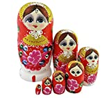 Best Winterworm Dolls - Winterworm Beautiful Gold Glitter Red Little Girl Flower Review