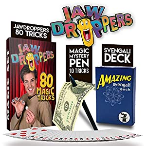 Magic Makers Jaw Droppers 80 Instructional Training with Larry Anderson, Including the Amazing Svengali Deck and Pen
