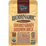Lundberg Family Farms Organic Biodynamic Short Grain Brown Rice, 1 Pound