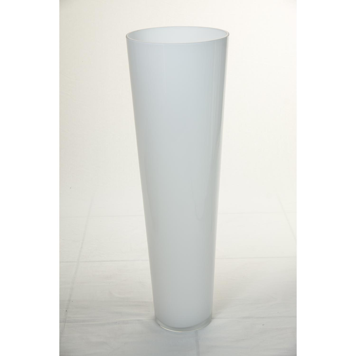 Large conical floor vase anna of glass black 24 70 cm 9 inna glas anna floor vase glass conical large 70 cm diameter 22 cm white reviewsmspy