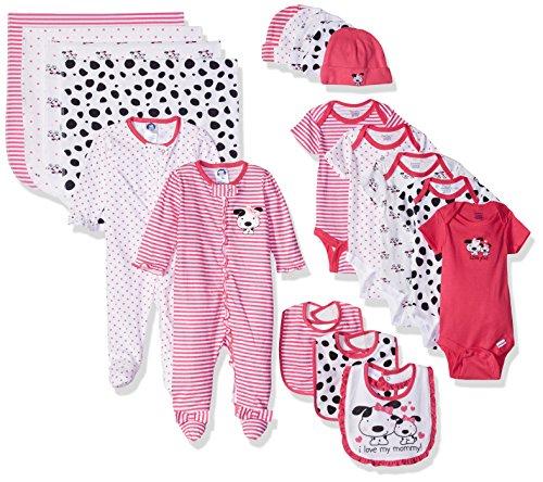 9 Piece Baby Essentials Gift Set, Dalmatian, Newborn ()